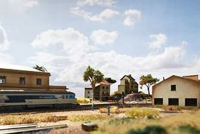 Trix French Town Homes Kit - N-Scale