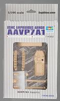 Trumpeter AAVP7A1 Assault Amphibious Armor Plastic Model Military Vehicle Kit 1/144 Scale #00103
