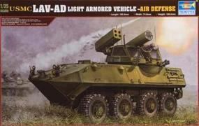 Trumpeter USMC LAV-AD Light Armored Air Defense Vehicle Plastic Model Kit 1/35 Scale #00393