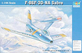Trumpeter F86F30 Saber Jet Plastic Model Airplane 1/144 Scale #01320