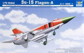 Trumpeter Sukhoi Su15 Flagon A Soviet Interceptor Aircraft (D) Plastic Model Airplane Kit 1/72 #01624