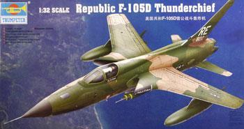 Trumpeter 1/32 F105D Thunderchief Aircraft