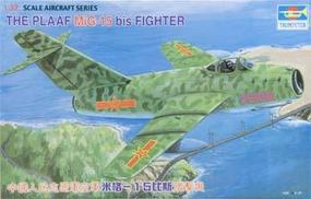 Trumpeter PLAFF Mig 15 Fighter Plastic Model Airplane 1/32 Scale #02204