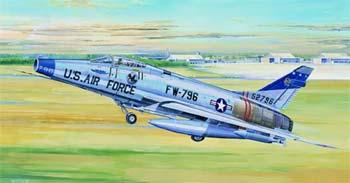 Trumpeter F100D Super Sabre Attack Fighter -- Plastic Model Airplane -- 1/32 Scale -- #02232