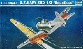 Trumpeter US Navy SBD-1/2 Dauntless Plastic Model Airplane 1/32 Scale #02241