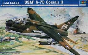 Trumpeter A-7D USAF Corsair II Aircraft Plastic Model Airplane 1/32 Scale #02245
