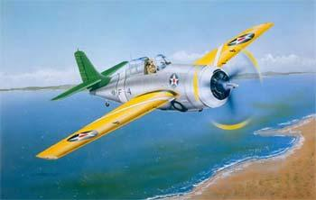 Trumpeter F4F3 Wildcat Fighter Early Version Plastic Model Airplane 1/32 Scale #02255