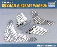 Trumpeter Russian Modern Aircraft Weapons Set Plastic Model Military Diorama Kit 1/32 Scale #03301