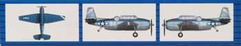 Trumpeter 1/700 TBF Avenger Aircraft Set for USS Essex (18/Bx)