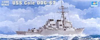 Trumpeter USS Cole DDG67 Arleigh Burke Guided Missile Destroyer Plastic Model Kit 1/350 Scale #04524