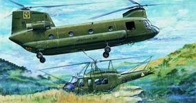 Trumpeter CH47A Chinook Helicopter Plastic Model Helicopter Kit 1/35 Scale #05104