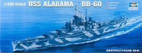 Trumpeter USS Alabama BB-60 Battleship Plastic Model Military Ship Kit 1/350 Scale #05307