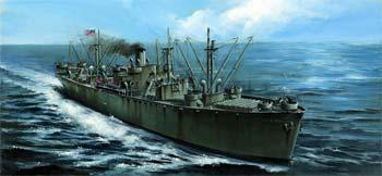 Trumpeter USS Liberty Ship John W Brown Plastic Model Military Ship Kit 1/350 Scale #05308
