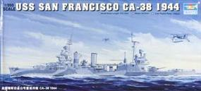 Trumpeter USS San Francisco CA38 Heavy Cruiser 1944 Plastic Model Military Ship 1/350 Scale #05310