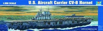 Trumpeter USS Aircraft Carrier Hornet CV8 -- Plastic Model Military Ship Kit -- 1/350 Scale -- #05601