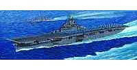 Trumpeter U.S.S. Aircraft Carrier Essex CV9 Plastic Model Military Ship Kit 1/350 Scale #05602