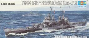 Trumpeter 44 USS Pittsburgh CA-72 Cruiser Plastic Model Military Ship Kit 1/700 Scale #05726