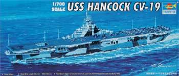 Trumpeter USS Hancock Aircraft Carrier Plastic Model Military Ship 1/700 Scale #05737