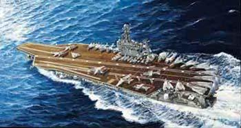 Trumpeter USS Theodore Roosevelt CVN71 Carrier 2006 Plastic Model Military Ship 1/700 Scale #05754