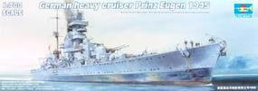Trumpeter German Prinz Eugen Heavy Cruiser 1945 Plastic Model Military Ship 1/700 Scale #05767