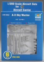 Trumpeter A3D Skywarrior Aircraft Set of 6 for USS Nimitz Plastic Model Airplane Kit 1/350 #06223