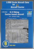 Trumpeter 1/350 S-3 Viking Aircraft Carrier Fleet (6)