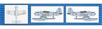 Trumpeter US Navy OS2U Kingfisher Aircraft -- Plastic Model Airplane Kit -- 1/350 Scale -- #06249