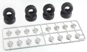 Trumpeter LAV 8x8 Tire Set 325/85/R16 XML (8) Plastic Model Tires/Wheels 1/35 Scale #06607