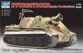 Trumpeter Stumtiger Assault Mortar Late Version Plastic Model Military Vehicle Kit 1/72 Scale #07247