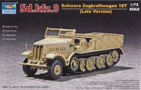 Trumpeter WWII German FAMO 18t SdKfz 9 Type F3 Halftrack Plastic Model Kit 1/72 Scale #07252