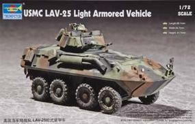 Trumpeter USMC LAV-25 8x8 Light Armored Vehicle Plastic Model Military Vehicle Kit 1/72 Scale #07268