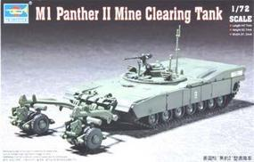 Trumpeter M1 Abrams Panther II Mine Clearing Tank Plastic Model Military Vehicle 1/72 Scale #07280