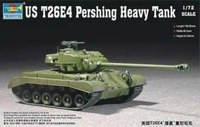 Trumpeter US T26E4 Pershing Heavy Tank Plastic Model Military Vehicle Kit 1/72 Scale #07287