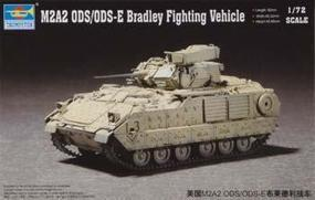 Trumpeter M2A2 ODS/ODS-E Bradley Fighting Plastic Model Military Vehicle Kit 1/72 Scale #07297
