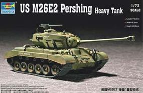 Trumpeter US M26E2 Pershing Heavy Tank Plastic Model Military Vehicle 1/72 Scale #07299