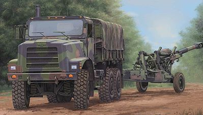Trumpeter US Mk. 23 MTVR Cargo Truck -- Plastic Model Military Vehicle Kit -- 1/35 Scale -- #1011