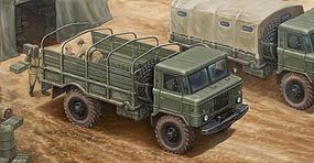 Trumpeter Russian GAZ-66 Light Military Truck Plastic Model Military Vehicle Kit 1/35 Scale #1016