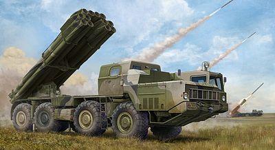 Trumpeter 5582 Russian TOS-1 24-Barrel Multipe Rocket L in 1:35