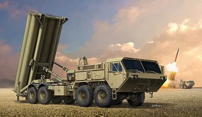 Trumpeter 1/35 US Terminal High Altitude Area Defense (THAAD) Missile System (New Tool) (JAN