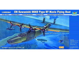 Trumpeter Kawanishi Type 97 Mavis H6K5/23 Flying Boat Plastic Model Airplane Kit 1/144 #1322
