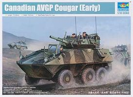 Trumpeter Canadian Cougar 6x6 AVGP Plastic Model Military Vehicle Kit 1/35 Scale #1501