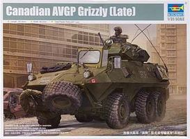 Trumpeter Canadian Grizzly 6x6 Armored Personnel Carrier Plastic Model Military Kit 1/35 Scale #1505