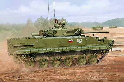 Trumpeter Russian BMP-3F Infantry Fighting Vehicle -- Plastic Model Military Kit -- 1/35 Scale -- #1529