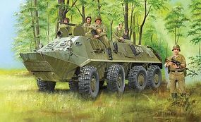 Trumpeter Russian BTR-60PA Armored Personnel Carrier Plastic Model Military Vehicle 1/35 Scale #1543
