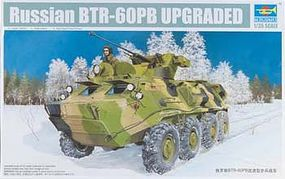 Trumpeter Russian BTR60PB Armored Personnel Carrier Upgraded Plastic Model Kit 1/35 Scale #1545