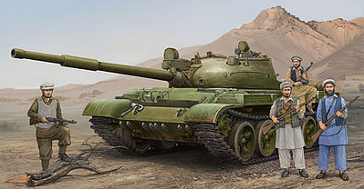 Trumpeter Russian T62 Mod 1975 (Mod 1962+KTD2) Tank -- Plastic Model Military Vehicle -- 1/35 Scale -- #1551