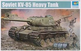 Trumpeter Soviet KV-85 Heavy Tank Plastic Model Military Vehicle Kit 1/35 Scale #1569