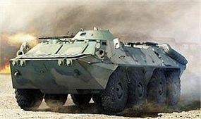 Trumpeter Russian BTR-70 Armored Personnel Carrier Plastic Model Military Vehicle 1/35 Scale #1591