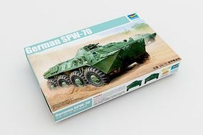 Trumpeter German SPW-70 Armored Personnel Carrier Plastic Model Military Vehicle Kit 1/35 Scale #1592