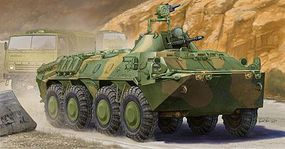 Trumpeter Russian BTR-70 Armored Personnel Carrier Plastic Model Vehicle Kit 1/35 Scale #1593